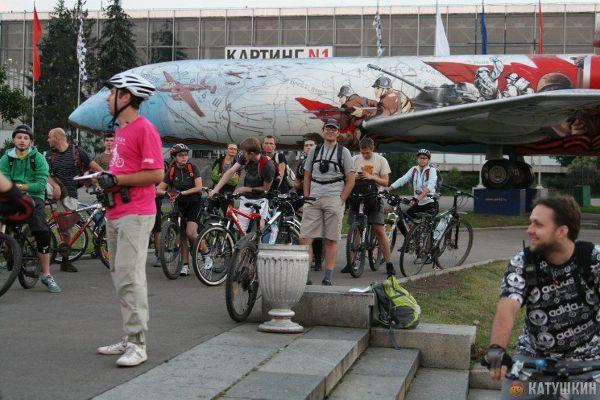 Велоклуб «М.А.О.», велоэкскурсия «Выставка счастья»