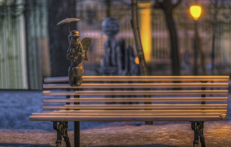 Скульптура «Петербургский ангел»