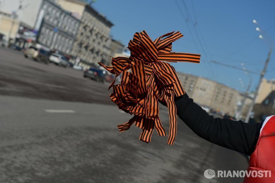 Где взять георгиевскую ленточку.  Адреса в Москве - Вопрос-ответ - Аргументы...